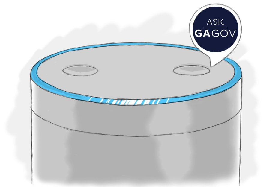 Ask GeorgiaGov, an Alexa Skill for Citizens of Georgia by Acquia Labs