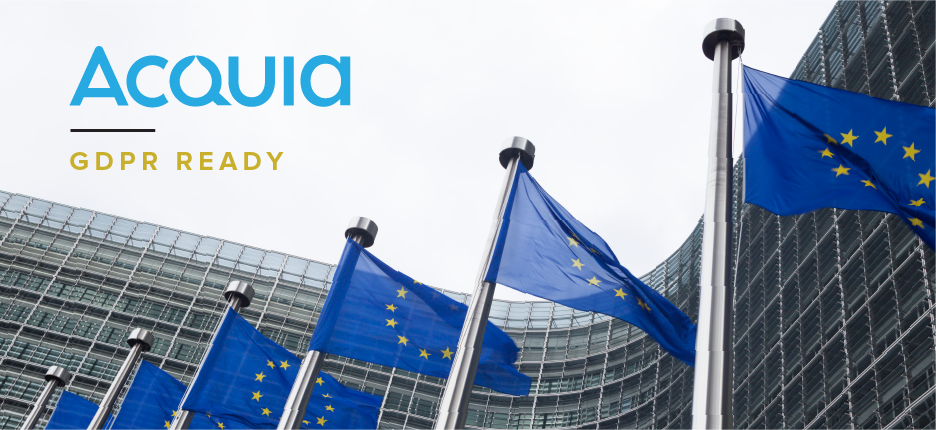 Acquia is GDPR Ready
