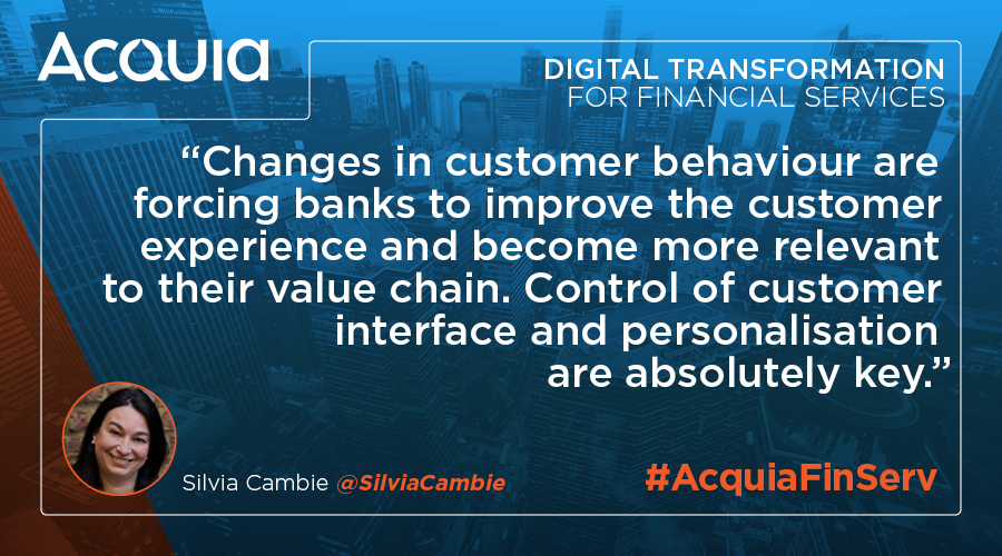 Silvia Cambia on the digital transformation of financial services