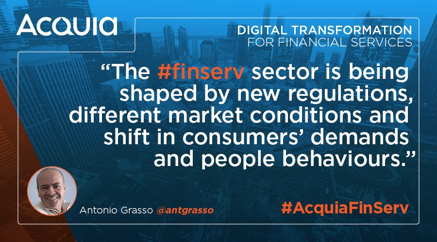 Antonio Grasso on the digital transformation of financial services