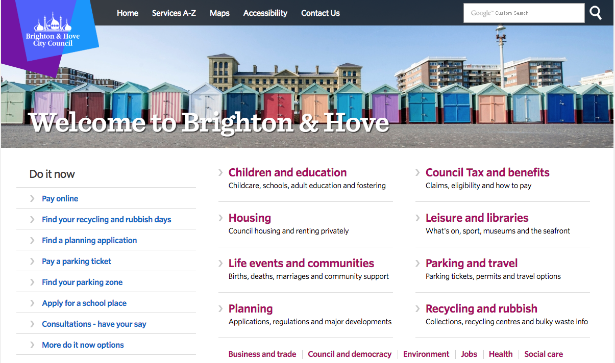 Enabling Brighton & Hove City Council to Better Serve Citizens