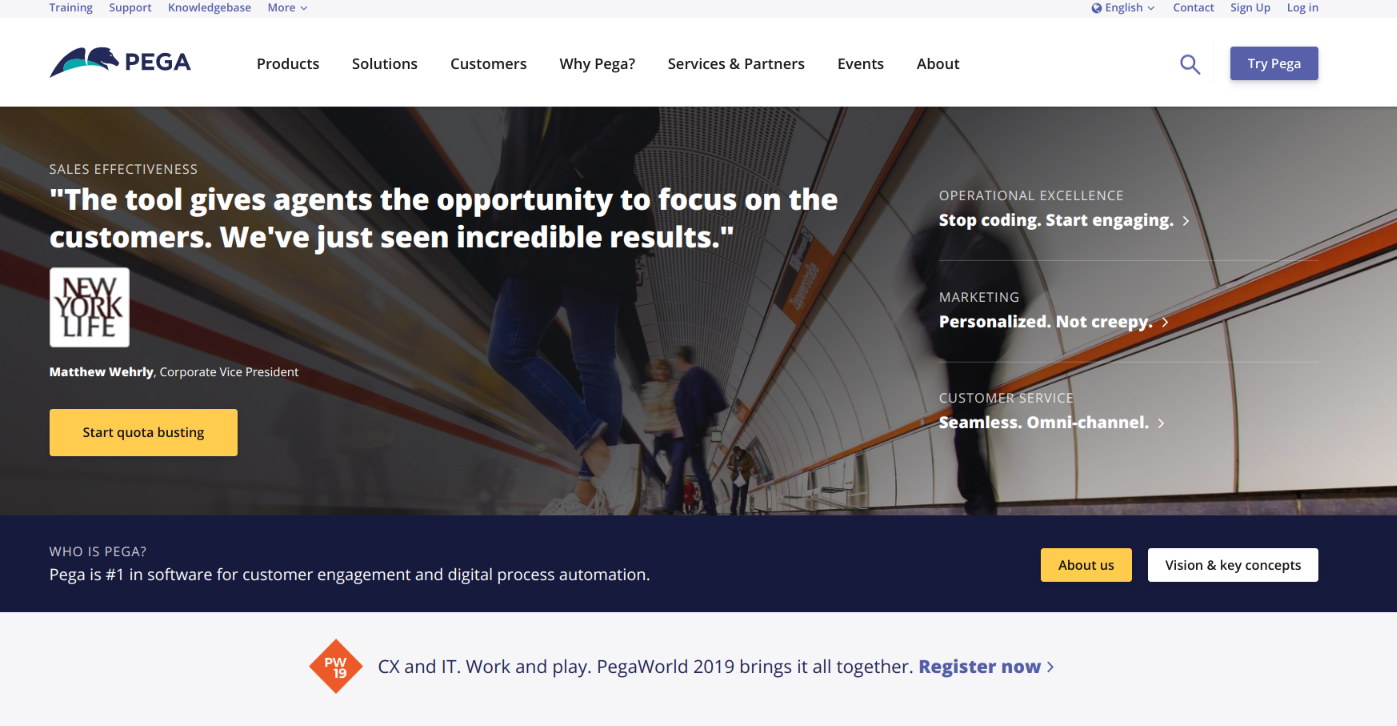 Mediacurrent Helps Pegasystems Make the Transition to Drupal 8