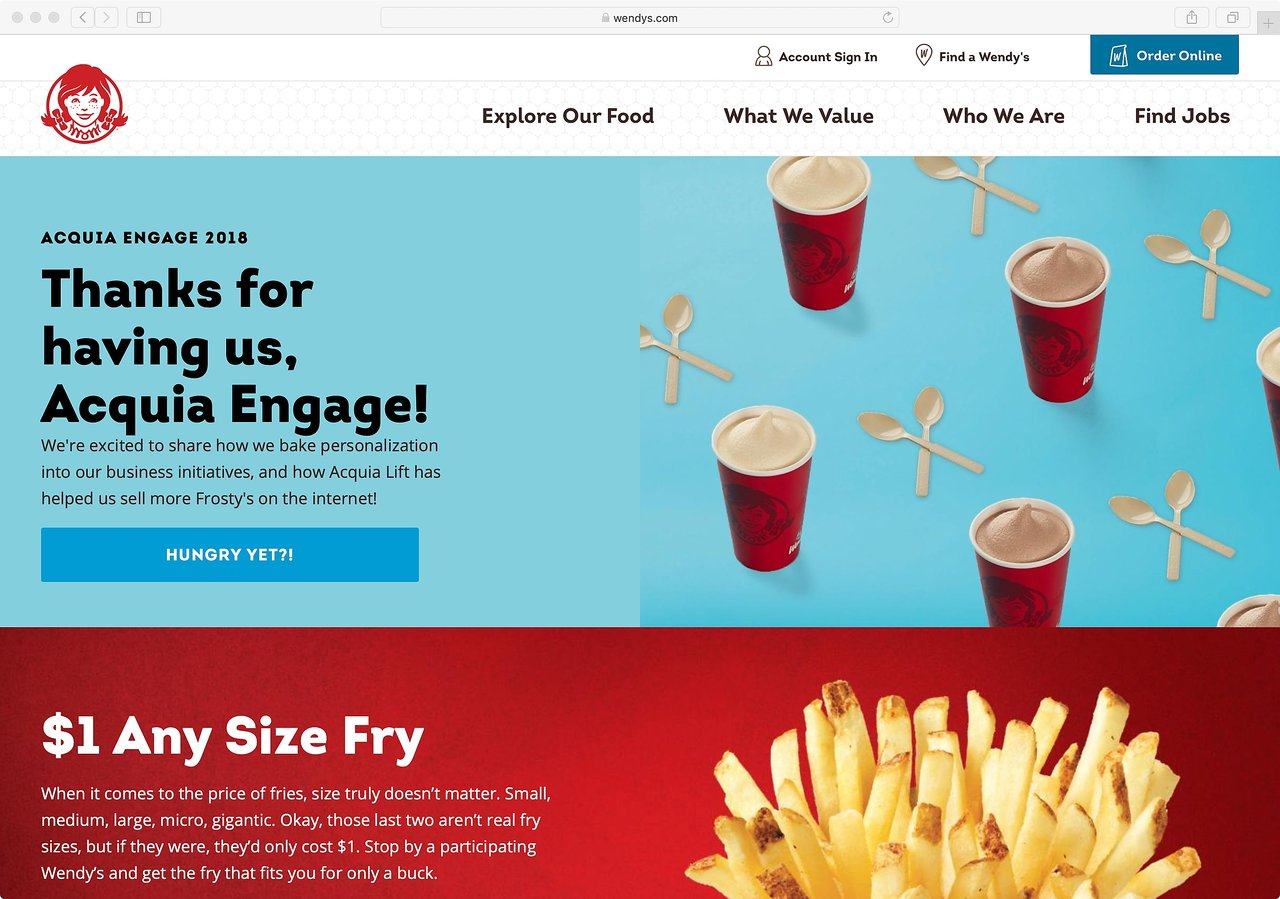 How Wendy's sells fresh, never-frozen hamburgers online