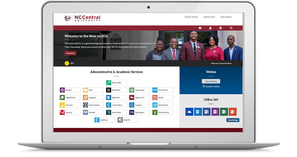 NCCU screenshot