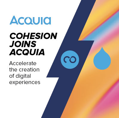 Cohesion Joins Acquia