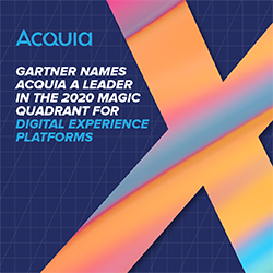 Gartner names Acquia a Leader in DXP 2020