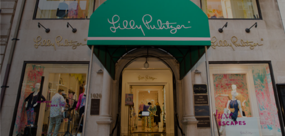 Lilly Pulitzer storefront