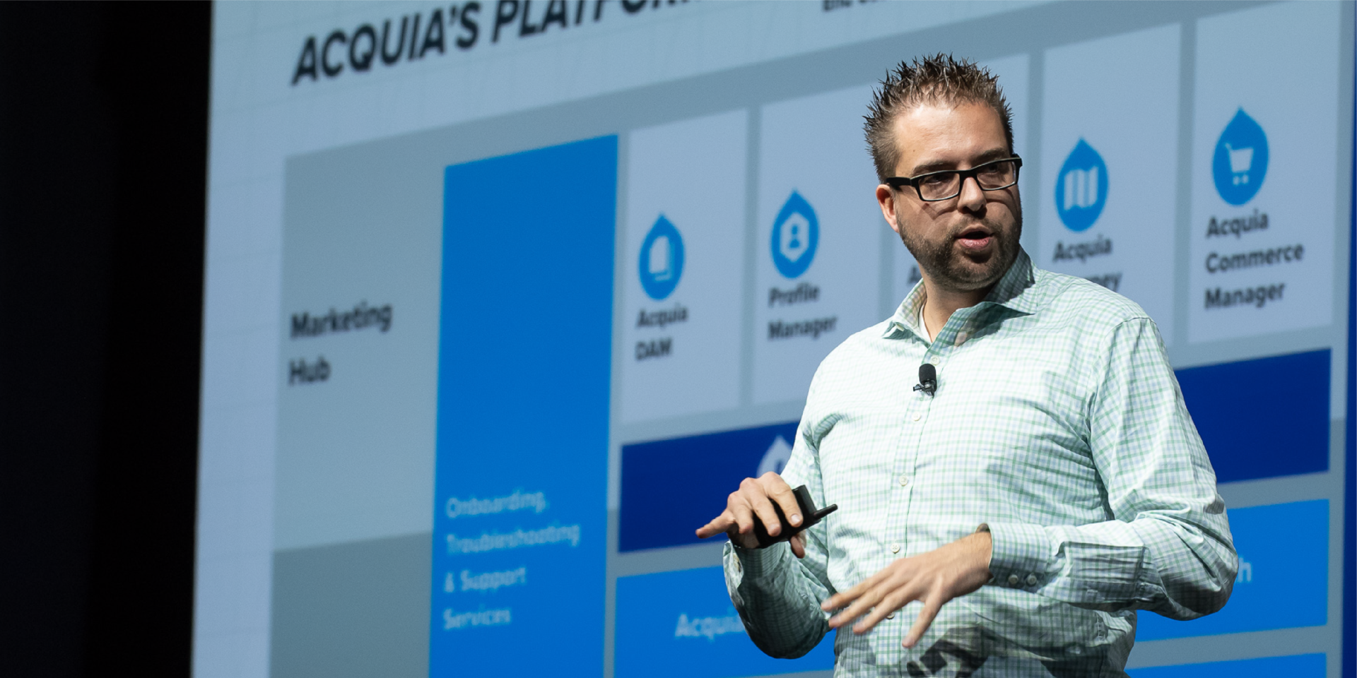 Dries Engage Acquia Platform Background