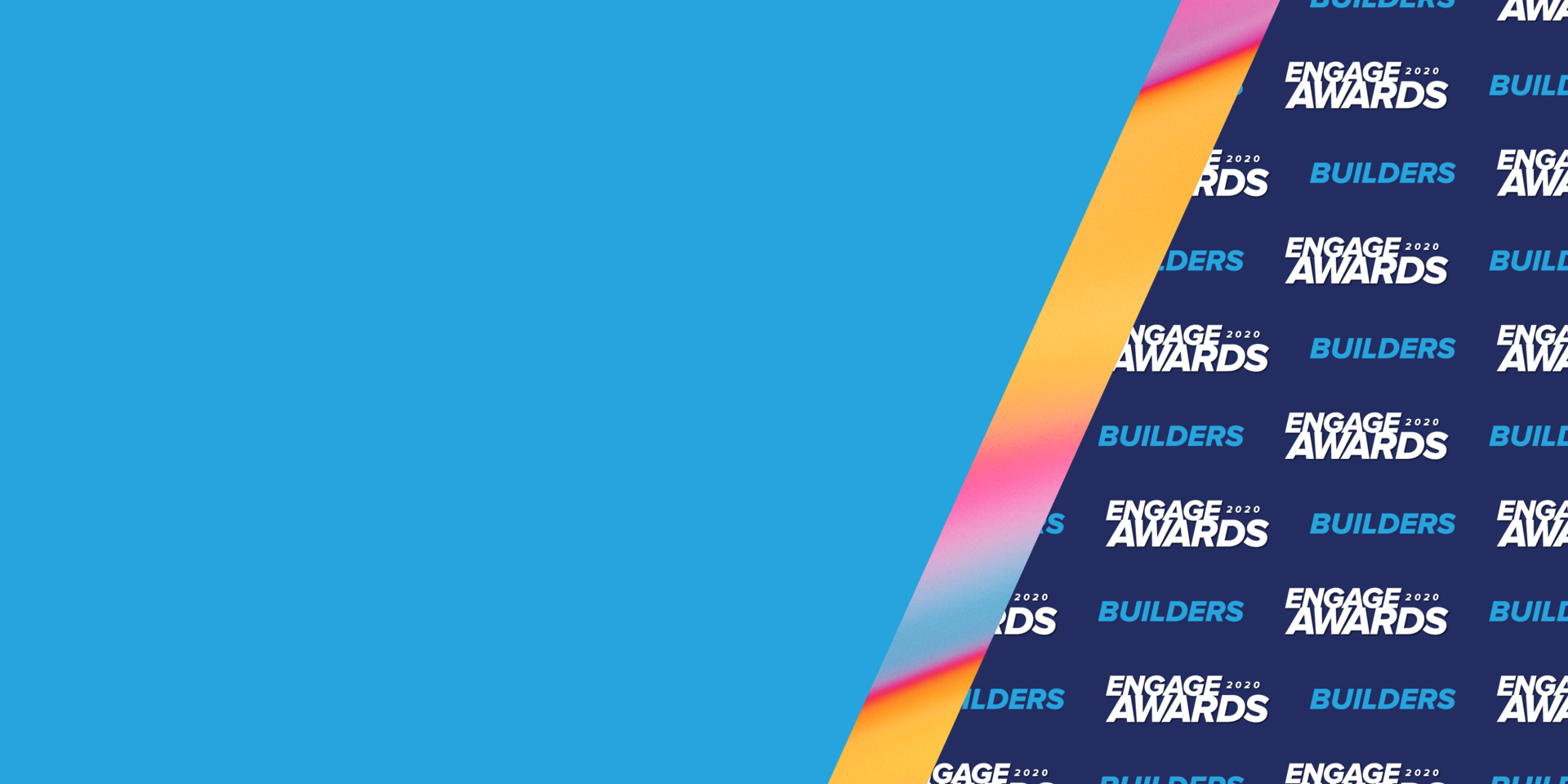Acquia Engage Awards 2020 Builders Banner