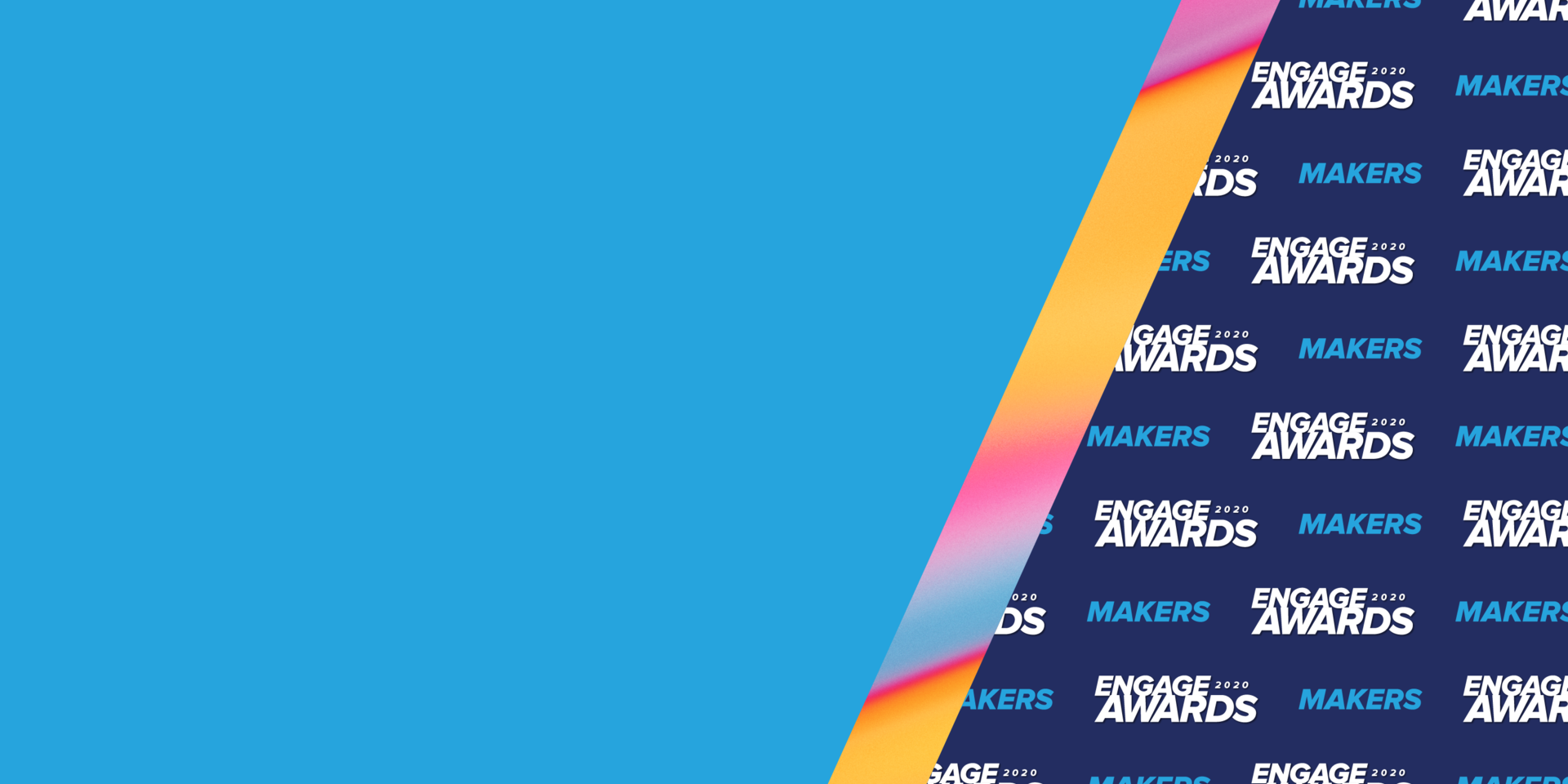 Acquia Engage Awards 2020 Makers Banner