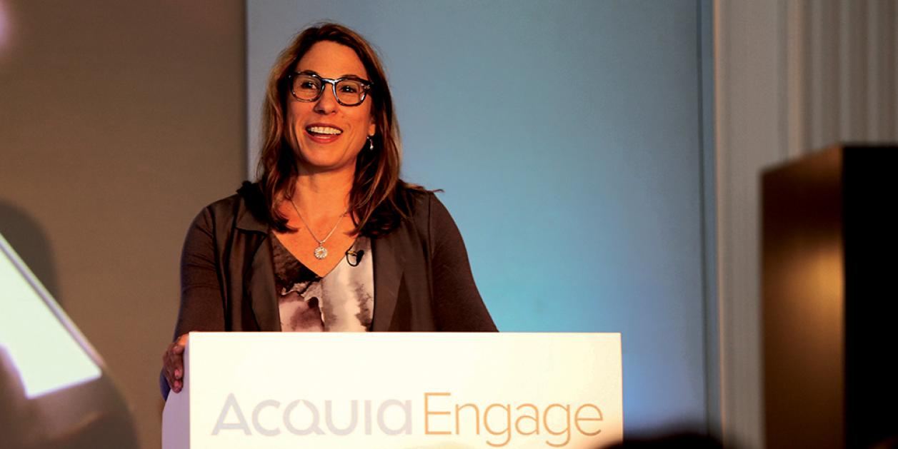 Sylvia Jensen, Acquia's vice president of marketing for EMEA