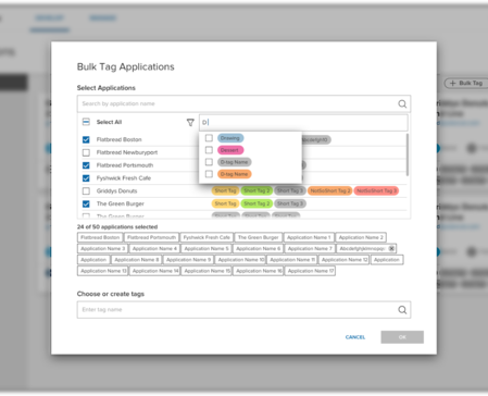 Acquia Cloud tagging