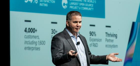 Acquia CEO Mike Sullivan at Acquia Engage 2018