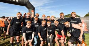 Acquia tough mudder team