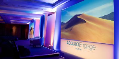 Stage at Acquia Engage Europe 2019