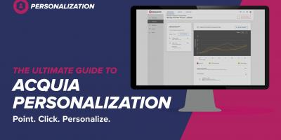 Ultimate Guide to Acquia Personalization Title Page
