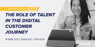 Webinar: The Role Of Talent In The Digital Customer Journey