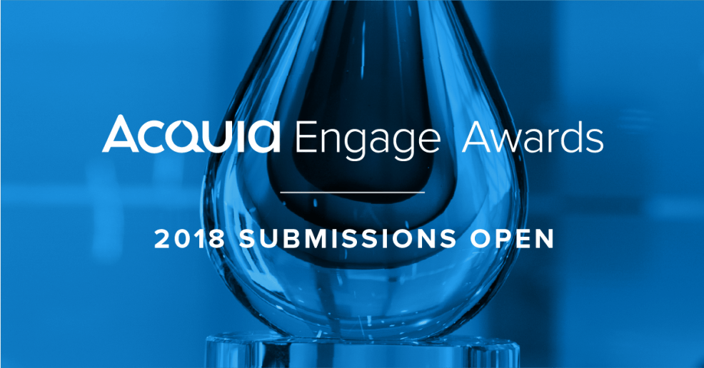 2018 Acquia Engage Awards
