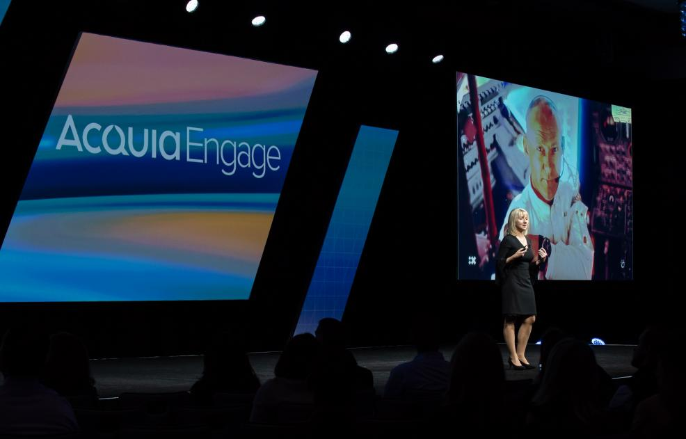 Felicity Carson of Watson Customer Engagement at Acquia Engage 2018