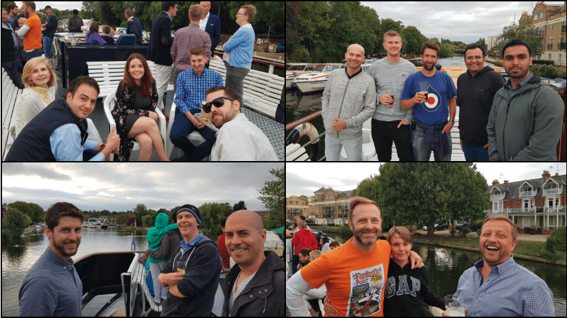 uk boat trip collage